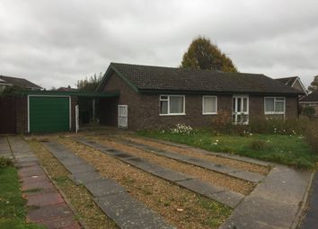 Thumbnail 3 bed detached bungalow for sale in Hethersett, Norwich, Norfolk