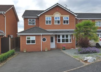 Thumbnail 4 bed detached house for sale in Chillington Drive, Dudley