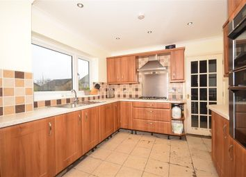 Thumbnail 4 bed detached house for sale in Hillview Gardens, Crawley, West Sussex