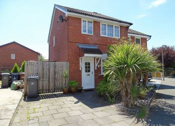 Thumbnail 3 bed semi-detached house for sale in Marsh Way, Penwortham, Preston
