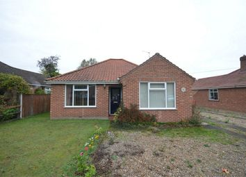 Thumbnail 2 bed detached bungalow for sale in Greenborough Road, Sprowston, Norwich, Norfolk
