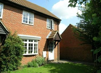 Thumbnail 2 bed end terrace house to rent in Freemans Close, Hungerford