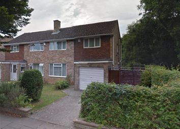 Thumbnail 4 bed semi-detached house for sale in Robert Burns Avenue, Cheltenham, Gloucestershire