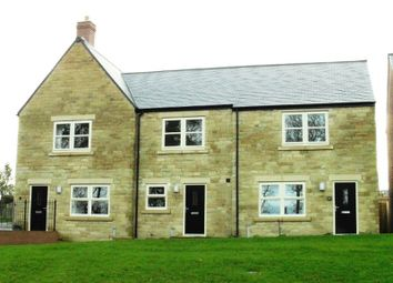 Thumbnail 2 bed terraced house to rent in Sea View, Longframlington, Morpeth
