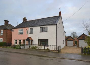 Thumbnail 3 bed semi-detached house for sale in The Street, Helhoughton, Fakenham