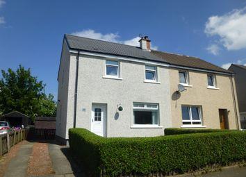 Thumbnail 3 bedroom semi-detached house for sale in Croy Road, Coatbridge