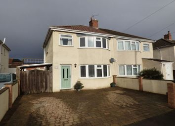Thumbnail 3 bed semi-detached house for sale in St. Austell Road, Weston-Super-Mare