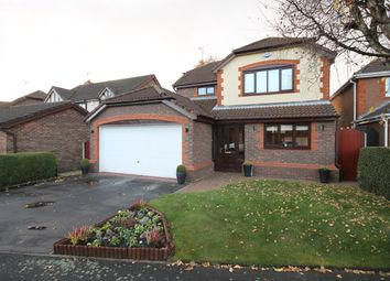 Thumbnail 4 bedroom detached house for sale in Upton Grange, Widnes