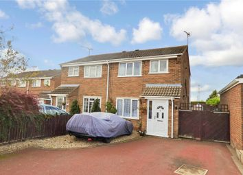 Thumbnail 3 bed semi-detached house for sale in Blenheim Crescent, Broughton Astley, Leicester, Leicestershire