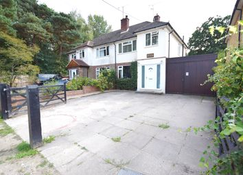 Thumbnail 3 bed semi-detached house for sale in Woollards Road, Ash Vale