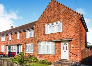 Thumbnail 3 bedroom end terrace house for sale in Sherborne Road, Chichester