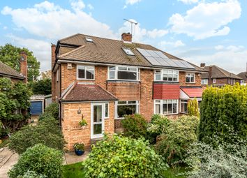 Thumbnail 4 bedroom semi-detached house for sale in Honeybourne Way, Petts Wood, Orpington