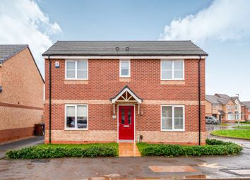 Thumbnail 3 bedroom detached house for sale in Newbold Drive, Stafford