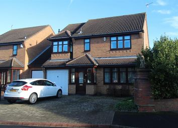 Thumbnail 4 bed detached house for sale in Murrayfield, Seghill, Cramlington