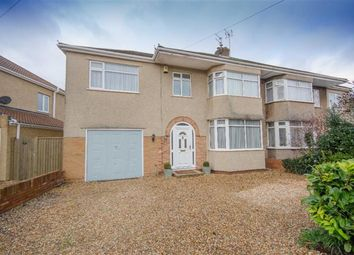 Thumbnail 4 bed semi-detached house for sale in Bromley Drive, Downend, Bristol