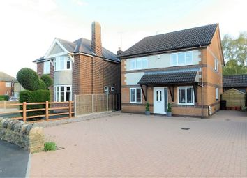 Thumbnail 4 bed detached house for sale in Church Lane, Whitwick, Coalville