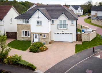 Thumbnail 5 bedroom detached house for sale in Woodcroft Drive, Lenzie, Glasgow