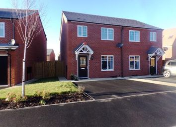 Thumbnail 3 bed semi-detached house for sale in Knight Close, Polesworth, Tamworth