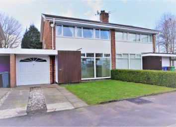 Thumbnail 3 bed semi-detached house for sale in Peveril Crescent, Manchester