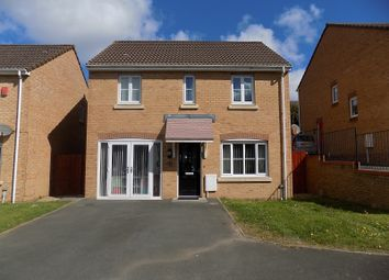 Thumbnail 3 bed detached house for sale in Plorin Road, North Cornelly, Bridgend.