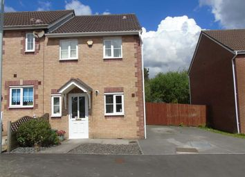 Thumbnail 2 bed end terrace house for sale in Ffordd Melyn Mair, Llansamlet, Swansea
