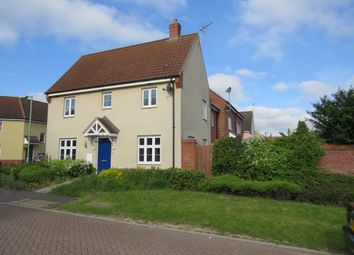 Thumbnail 3 bed end terrace house for sale in Juniper Road, Bury St. Edmunds