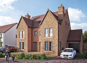 Thumbnail 4 bed semi-detached house for sale in Station Road, Delamere, Northwich