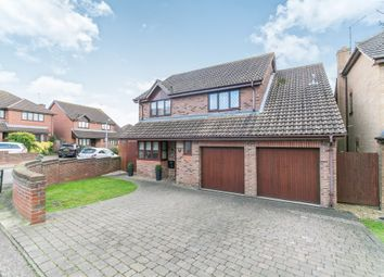 Thumbnail 4 bed detached house for sale in Barncroft Close, Highwoods, Colchester