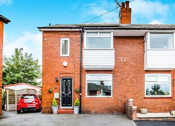Thumbnail 3 bed semi-detached house for sale in Moorcrest Road, Crosland Moor, Huddersfield