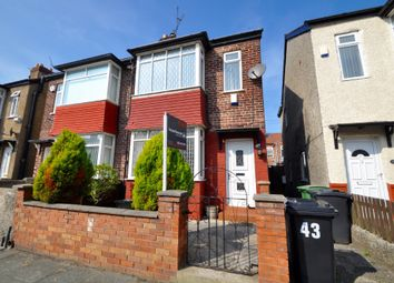 Thumbnail 2 bedroom semi-detached house to rent in Danescourt Road, Birkenhead