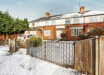 Thumbnail 2 bed terraced house for sale in Halewood Grove, Hall Green, Birmingham, West Midlands