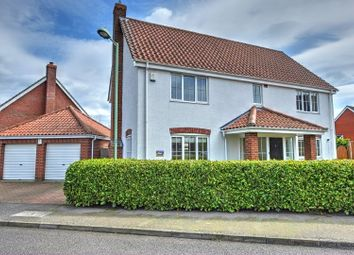 Thumbnail 4 bed detached house for sale in Janet Hadenham Close, Worlingham