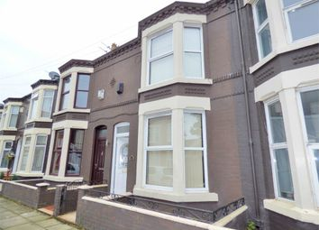 Thumbnail 2 bedroom terraced house for sale in Canon Road, Liverpool, Merseyside