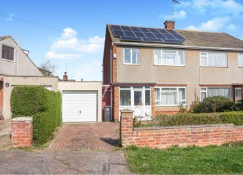 Thumbnail 3 bed semi-detached house for sale in Deancourt Drive, Northampton
