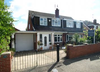 Thumbnail 3 bed semi-detached house for sale in Milton Drive, Newport Pagnell, Buckinghamshire