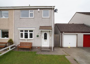 Thumbnail 3 bed semi-detached house for sale in Chatsworth Drive, Whitehaven, Cumbria