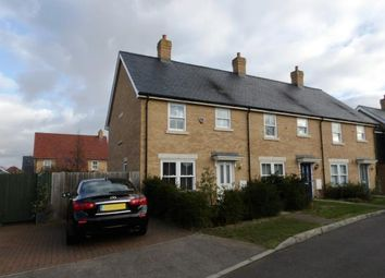 Thumbnail 3 bed end terrace house for sale in Maunder Avenue, Biggleswade, Bedfordshire