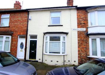 Thumbnail 2 bed terraced house for sale in Roslyn Street, Darlington