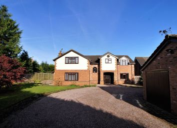 Thumbnail 5 bed detached house to rent in Main Road, Goostrey, Cheshire.