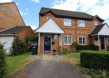 Thumbnail 3 bed semi-detached house to rent in Asgard Drive, Bedford