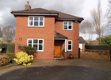 Thumbnail 4 bed detached house for sale in Meadowside, Northwich
