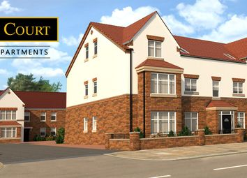 Thumbnail 2 bed flat for sale in Station Road, Bawtry, Doncaster
