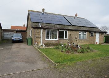 Thumbnail 2 bed semi-detached bungalow for sale in Limmer Avenue, Dickleburgh, Diss