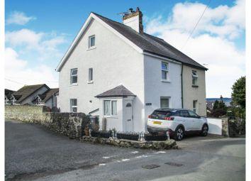 3 bed semi-detached house for sale in Mount Road, Llanfairfechan LL33