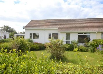 Thumbnail 4 bed semi-detached bungalow for sale in Croft Parc, The Lizard, Helston, Cornwall