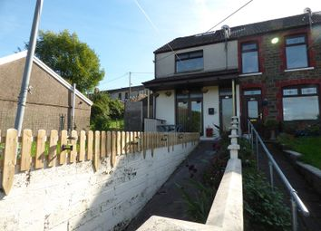 Thumbnail 3 bed end terrace house for sale in Commercial Street, Maesteg, Bridgend.
