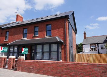 Thumbnail 3 bed end terrace house to rent in Station Road, Penarth