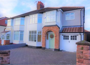 Thumbnail 4 bed semi-detached house for sale in Cheyne Gardens, Liverpool