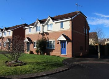 Thumbnail 3 bed semi-detached house for sale in Farlawns Court, Woodfield Plantation, Doncaster