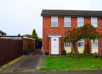 Thumbnail 3 bed semi-detached house for sale in Lawson Crescent, Northampton